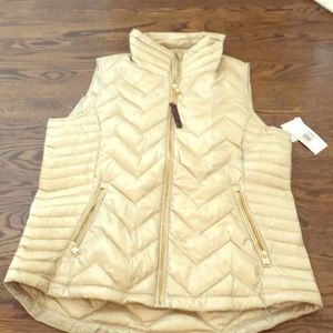 Calvin Klein Beige Down Filled Vest